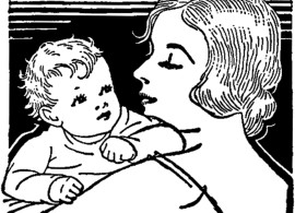 Vintage-Mother-with-Baby-Image-GraphicsFairy